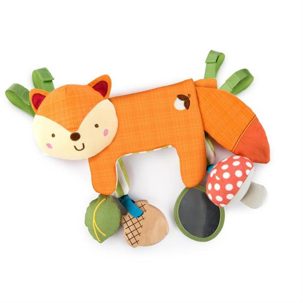 Bright Starts - Jucarie multifunctionala 2 in 1 Foxy Forest Toy Bar
