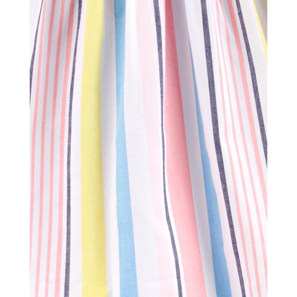 Carter's Rochie elegantă cu dungi multicolore & chiloțel 100% bumbac