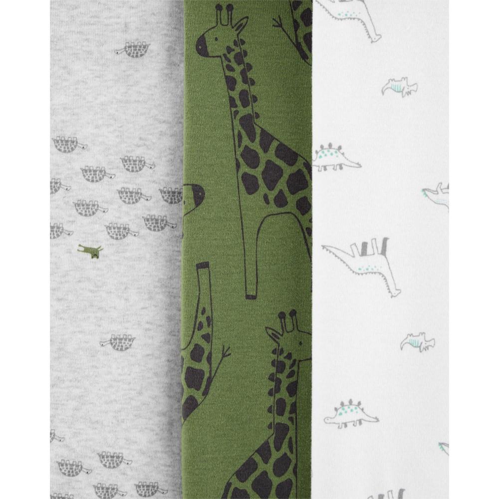 Carter's Set 3 Piese body Girafa 100% Bumbac Organic