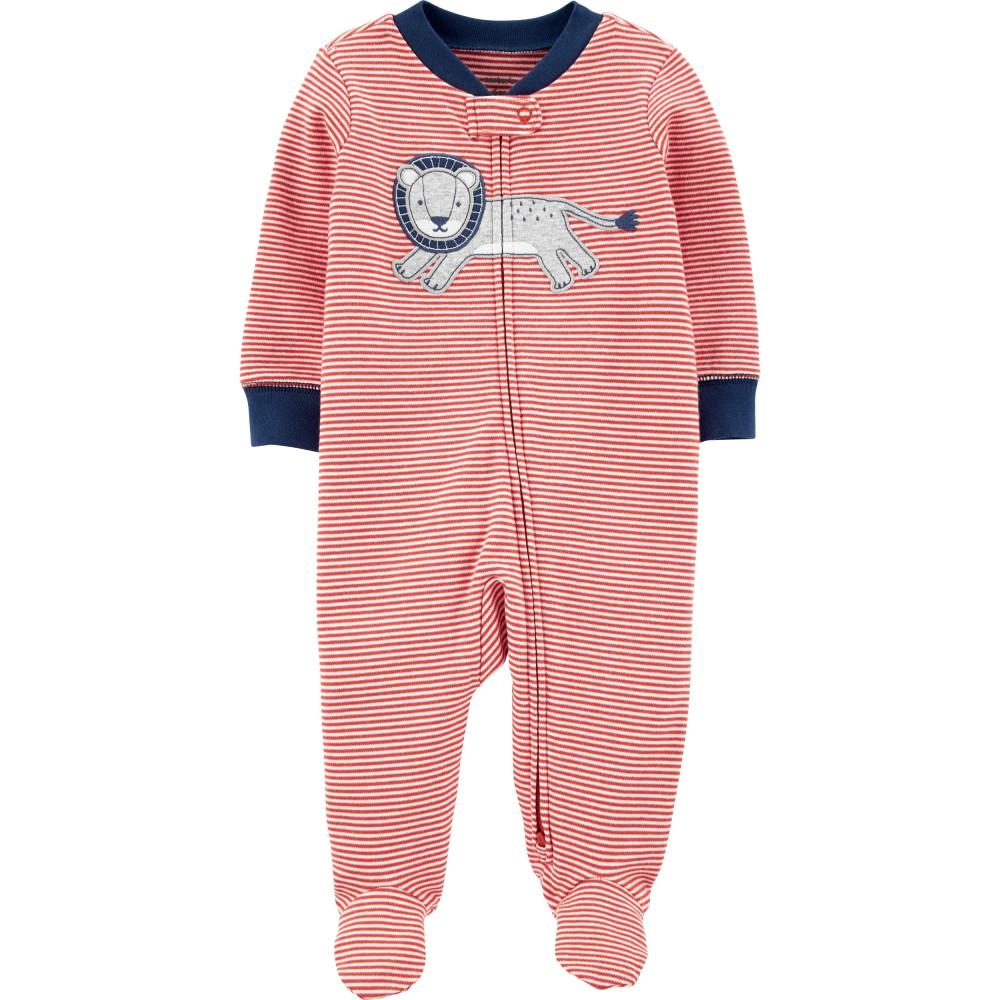 Carter's Pijama bebelus cu fermoar reversibil Leu
