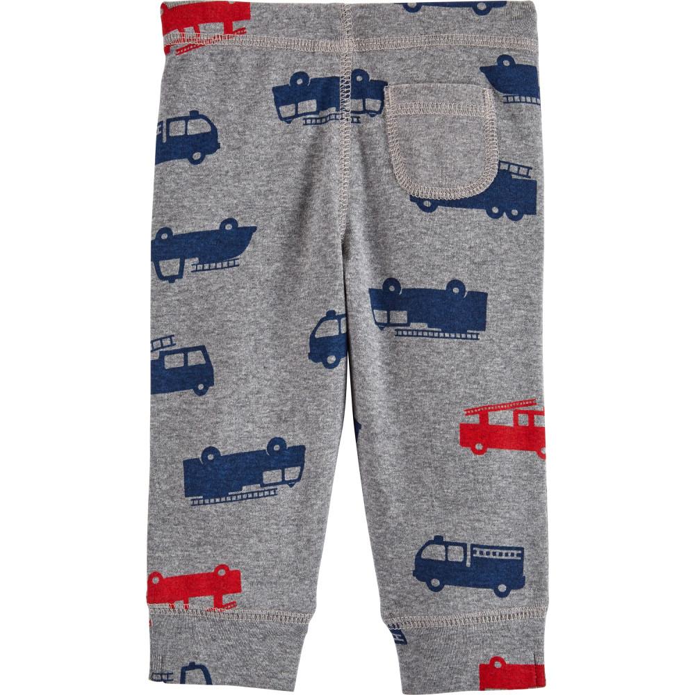 Carter's Set 3 Piese bebelus 2 body si pantaloni Pompieri