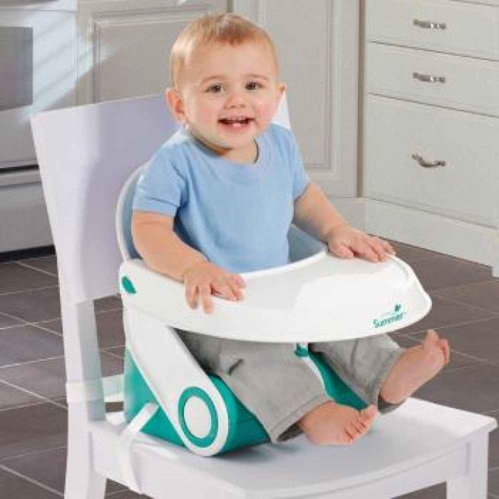 Summer Infant – Booster Sit 'n Style Alb/Turquoise
