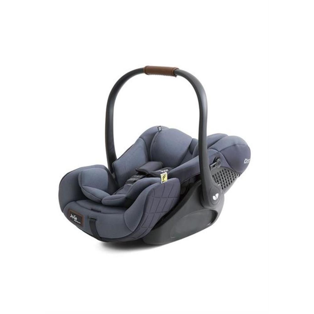 Joie – Scoica auto inclinabila I-Size I-Level Signature Granit Bleu, nastere-85 cm