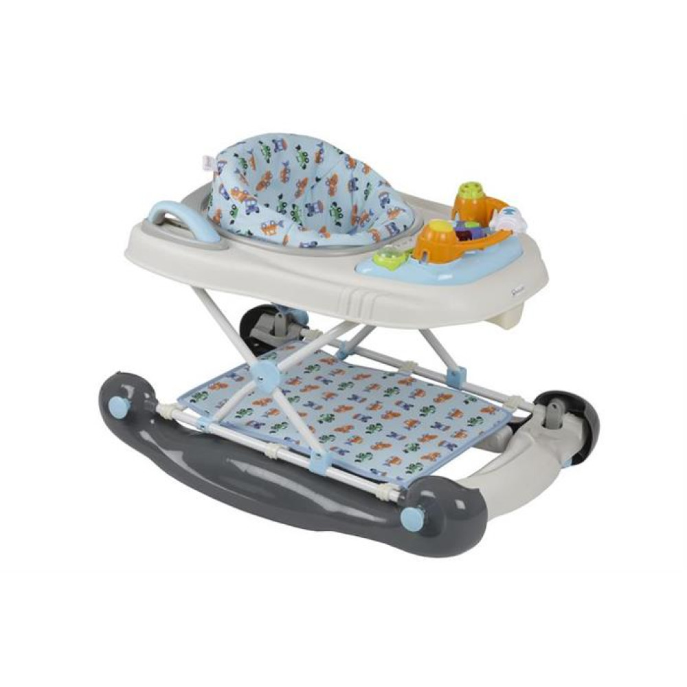 BabyGo – Premergator multifunctional 3 in 1 Light Blue