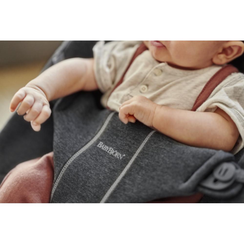 BabyBjorn - Balansoar Bliss Charcoal Grey, 3D Jersey
