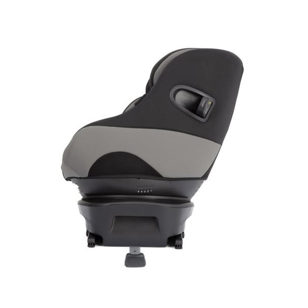 Joie - Scaun auto Spin Safe cu ISOFIX, Black Pepper, 0-18 kg - RESIGILAT