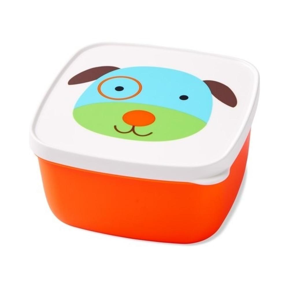 Skip Hop - Set 3 cutii pentru pranz Zoo - Catel