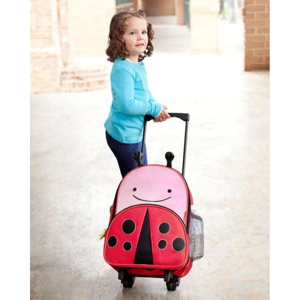 Skip Hop - Ghiozdan Troller Zoo - Buburuza