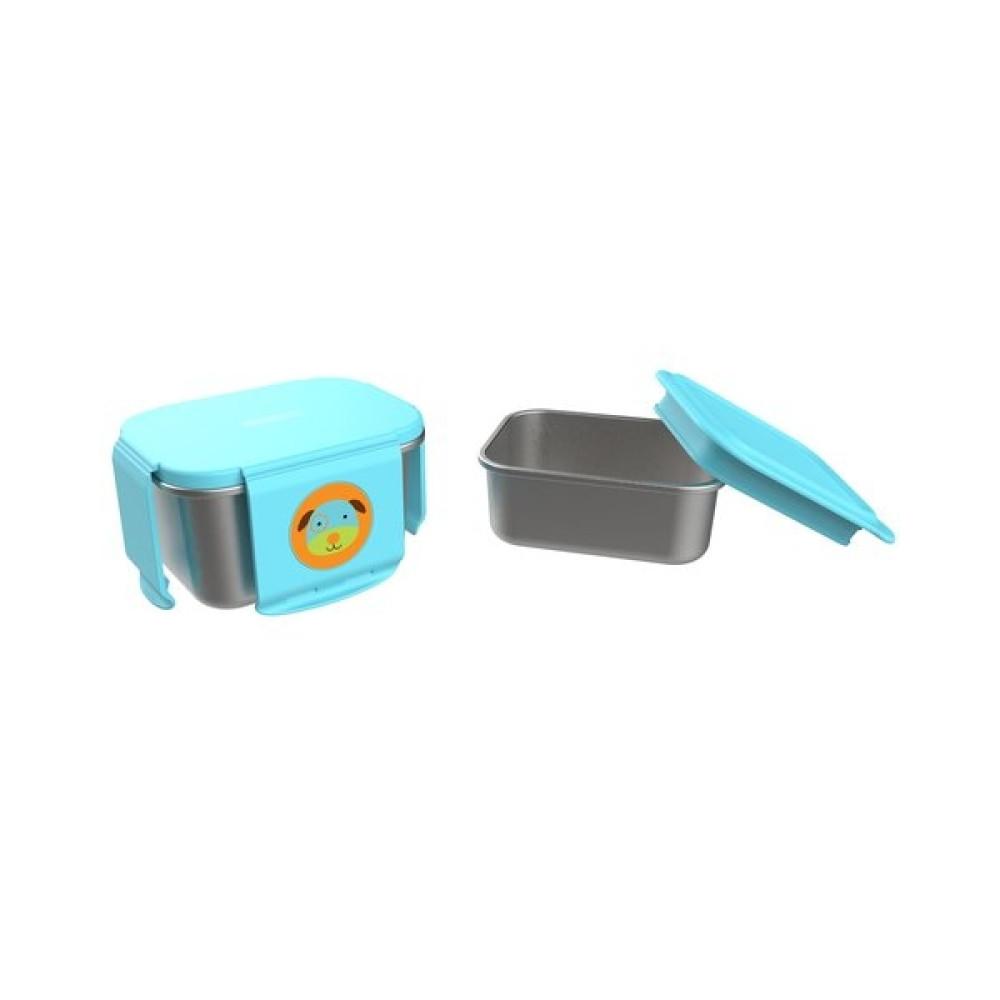 Skip Hop - Kit pentru pranz din otel inoxidabil Zoo - Catel