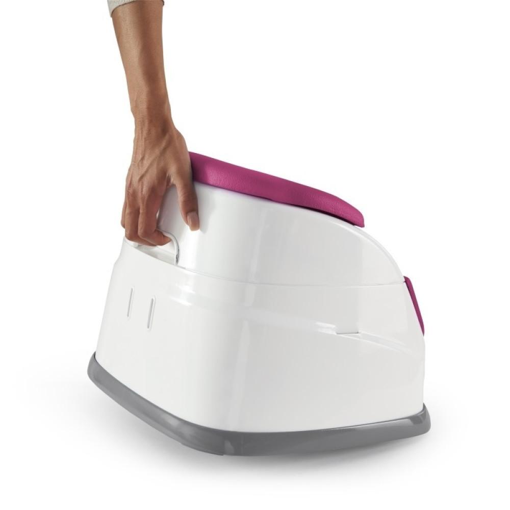 Ingenuity - Scaun de masa 2 in 1 Pink Flambe