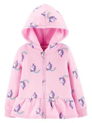 Oshkosh Hanorac Fleece cu unicorni