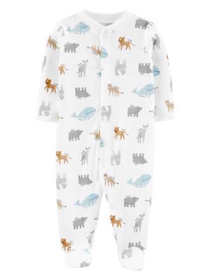 Carter's Pijama Animale 100% Bumbac Organic