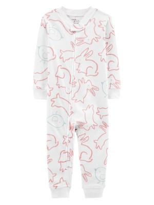 Carter's Pijama Iepurasi 100% Bumbac Organic