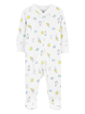 Carter's Pijama bebelus cu fermoar reversibil Vara
