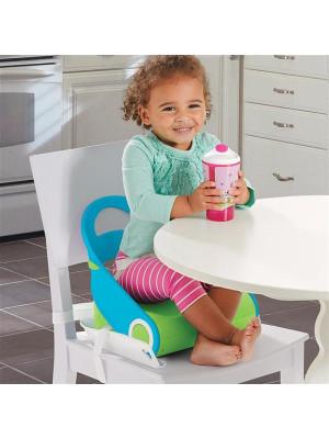 Summer Infant - Booster Sit 'n Style Albastru/Verde