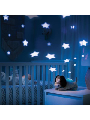 Summer Infant - Lampa cu sunete si proiectii Deluxe Puppy