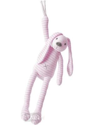 Happy Horse - Jucarie muzicala de plus Iepurasul Reece Pink, 38 cm