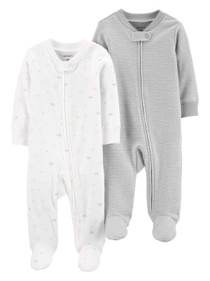 Carter's Set 2 Pijamale corpuri ceresti