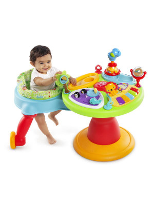 Bright Starts - Centru de activitati 3-in-1 Around We Go Zippity Zoo