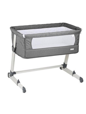 BabyGo – Patut co-sleeper 2 in 1 Together Grey