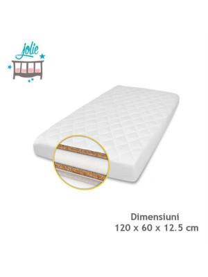 Jolie-Saltea Superlux Cocos-Burete-Cocos pentru patut 120×60 cm