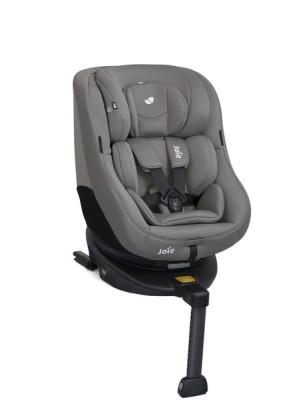 Joie – Scaun auto Rotativ cu Isofix Spin 360° Gray Flannel, 0-18 kg - RESIGILAT