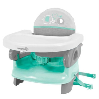 Summer Infant - Booster pliabil Deluxe Turquoise