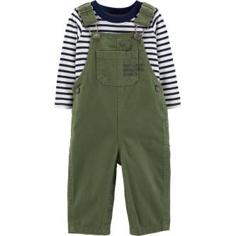 Carter's Set 2 Piese bluză & pantaloni 100% bumbac