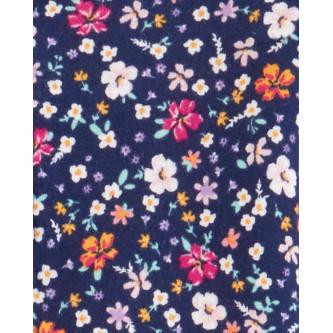 Carter's Set 2 pijamale bebe buline si flori