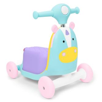 Skip Hop - Trotineta 3 in 1 Ride on Unicorn