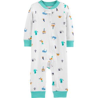 Carter's Pijama cu fermoar reversibil Marinar