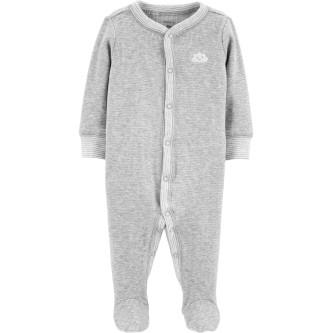 Carter's Pijama gri bebe Norisor