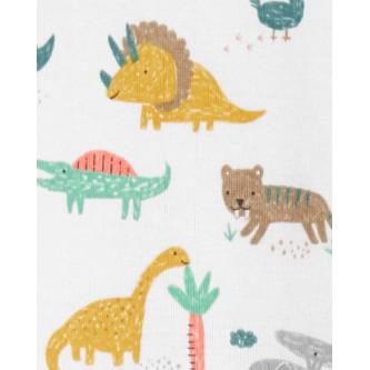 Carter's Set 5 body bebelus Dinozaur