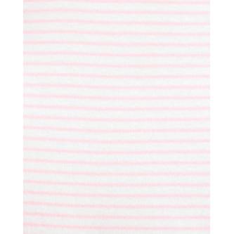 Carter's Set 3 piese bebelus pantaloni body si vesta roz