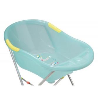 Badabulle - Set cadita ergonomica si suport pentru cadita Fun Blue