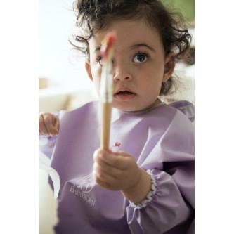 BabyBjorn - Bavetica cu maneca lunga Lila