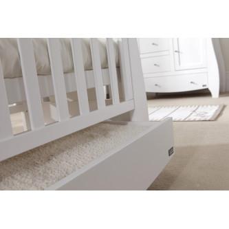 Tutti Bambini – Set patut Katie Alb + salteluta pentru bebelusi