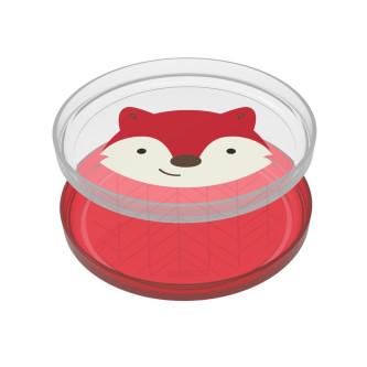 Skip Hop - Set farfurii anti-alunecare - Vulpe