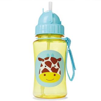 Skip Hop - Sticla cu pai Zoo - Girafa