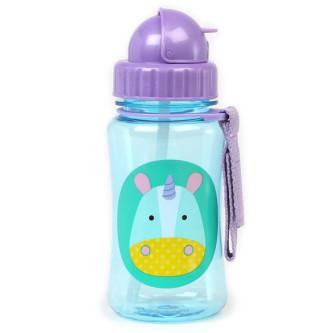 Skip Hop - Sticla cu pai Zoo – Unicorn